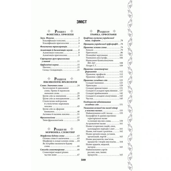Книга Українська без помилок. Говоримо і пишемо правильно, укладач Ольга Журенко | Bukio