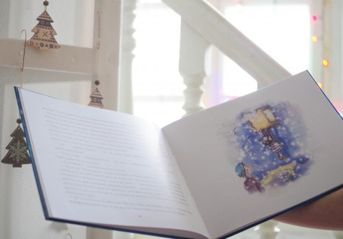 Дитяча книга король сніговик 1